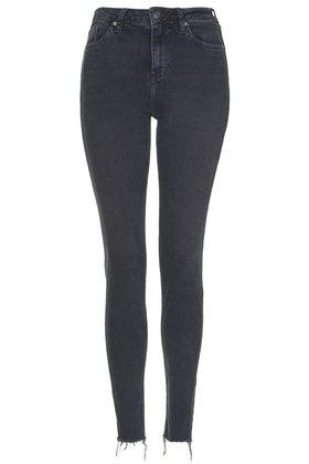TOPSHOP Moto Blue Black Binx Jeans