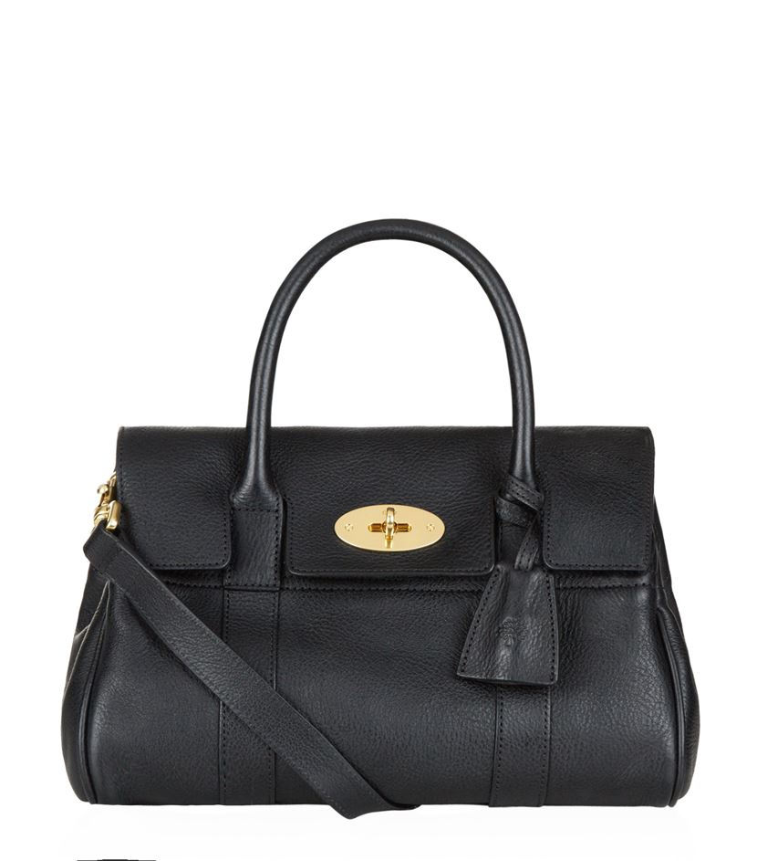 edac04fa8e Lyst - Mulberry Small Bayswater Satchel in Black