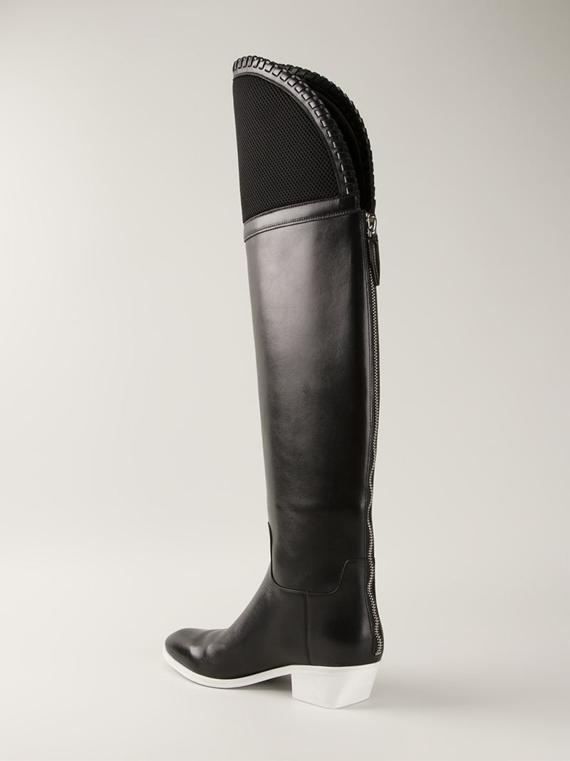 Alexander Wang 'Lovanni' Over-The-Knee Boots in Black