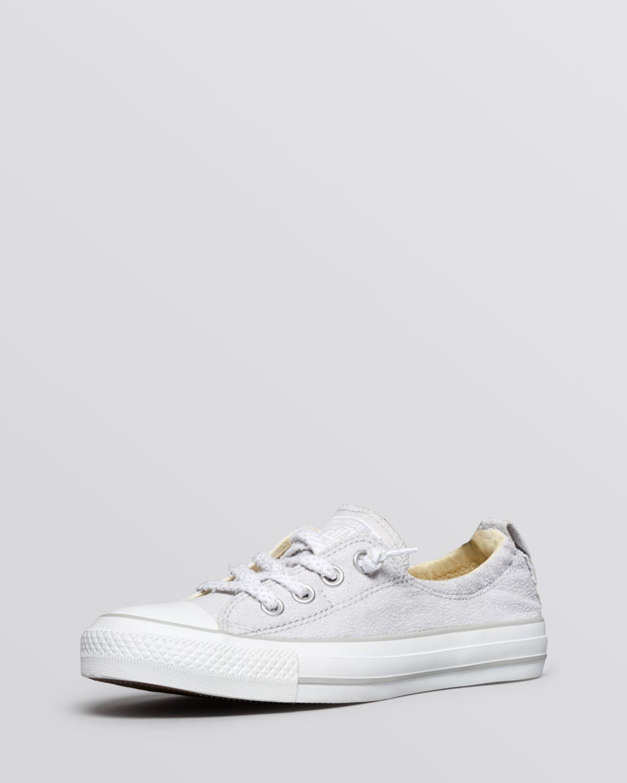 f8920d70b6f Lyst - Converse Flat Sneakers Chuck Taylor All Star Shoreline in Gray