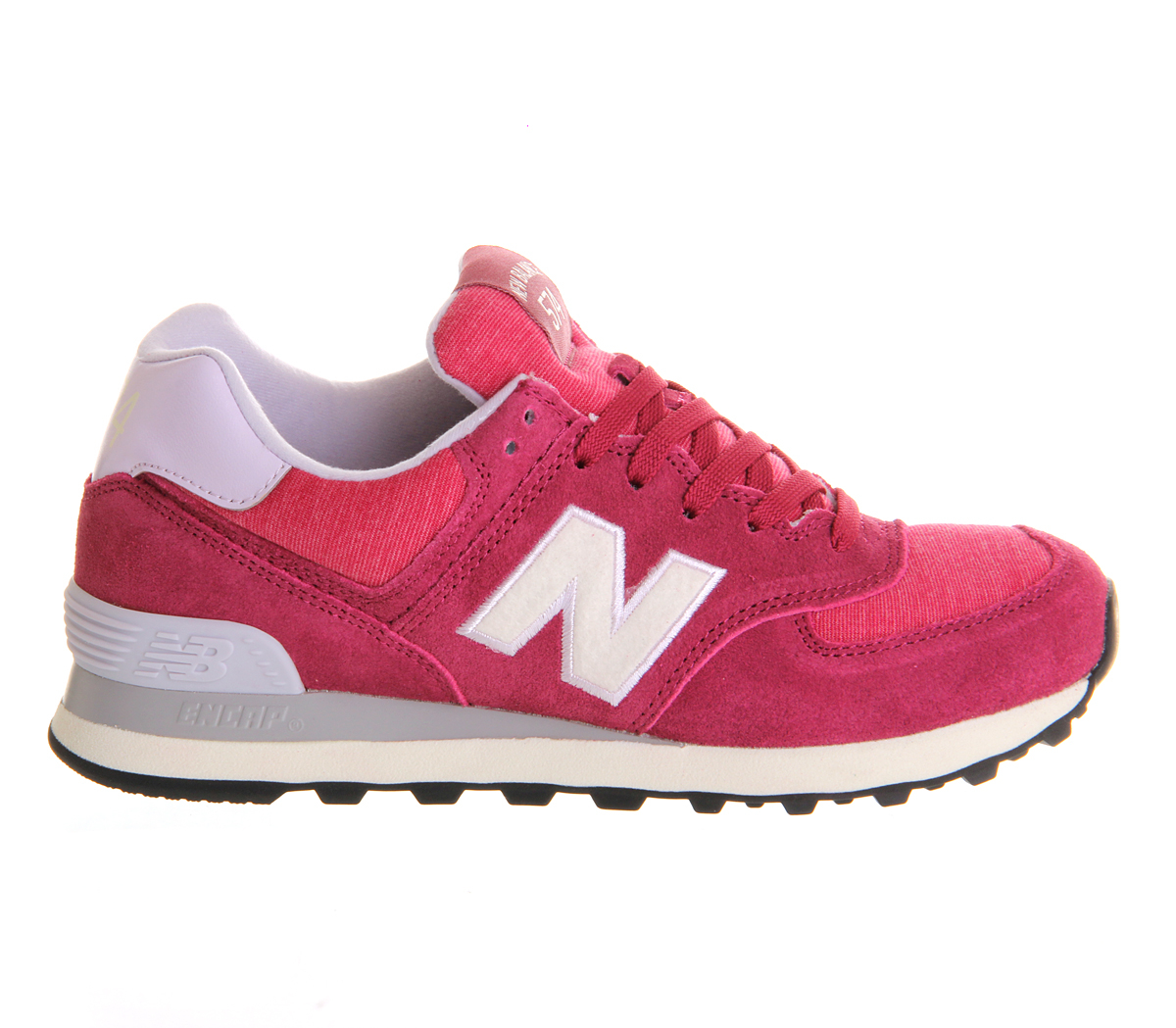 New Balance Wl574 in Fuschia (Pink) - Lyst