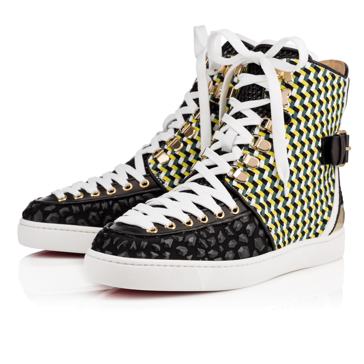 replica shoes for men - christian louboutin Rando high-top sneakers | The Filipino ...