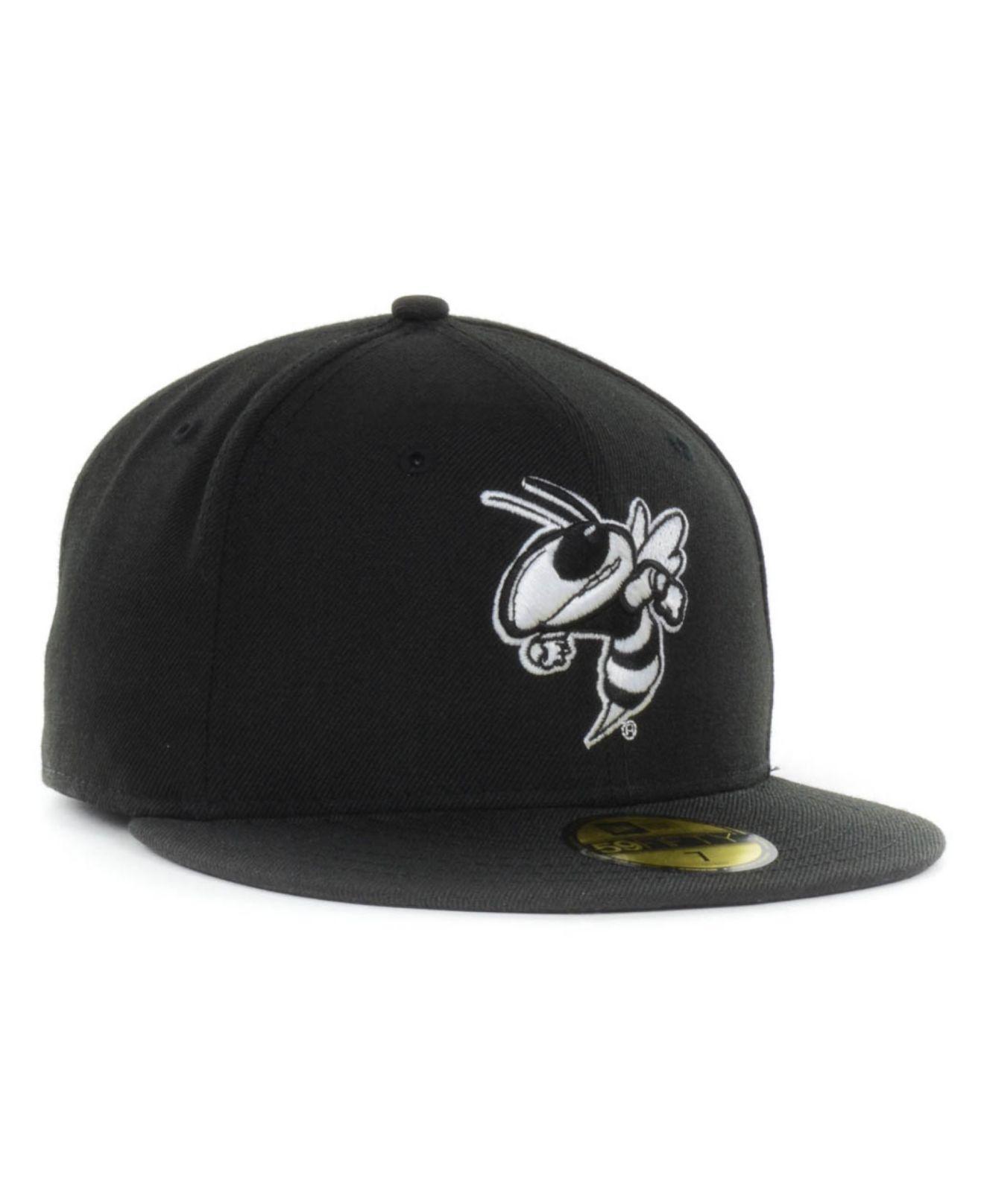 the best attitude ce972 65d6a KTZ Georgia Tech Yellow Jackets Ncaa Black On Black With White ...