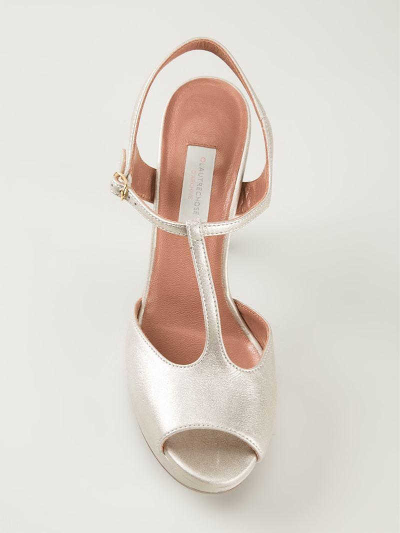 L Autre Chose T-strap Platform Sandals Buy Cheap Latest New Sale Online Outlet Discount Sale Sale Cost v0UOmV