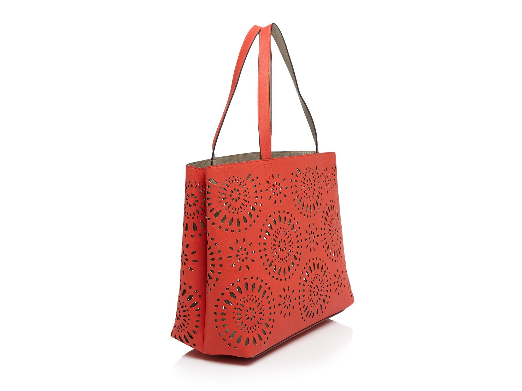 Echo Tote - Starburst Cut Out in Pink