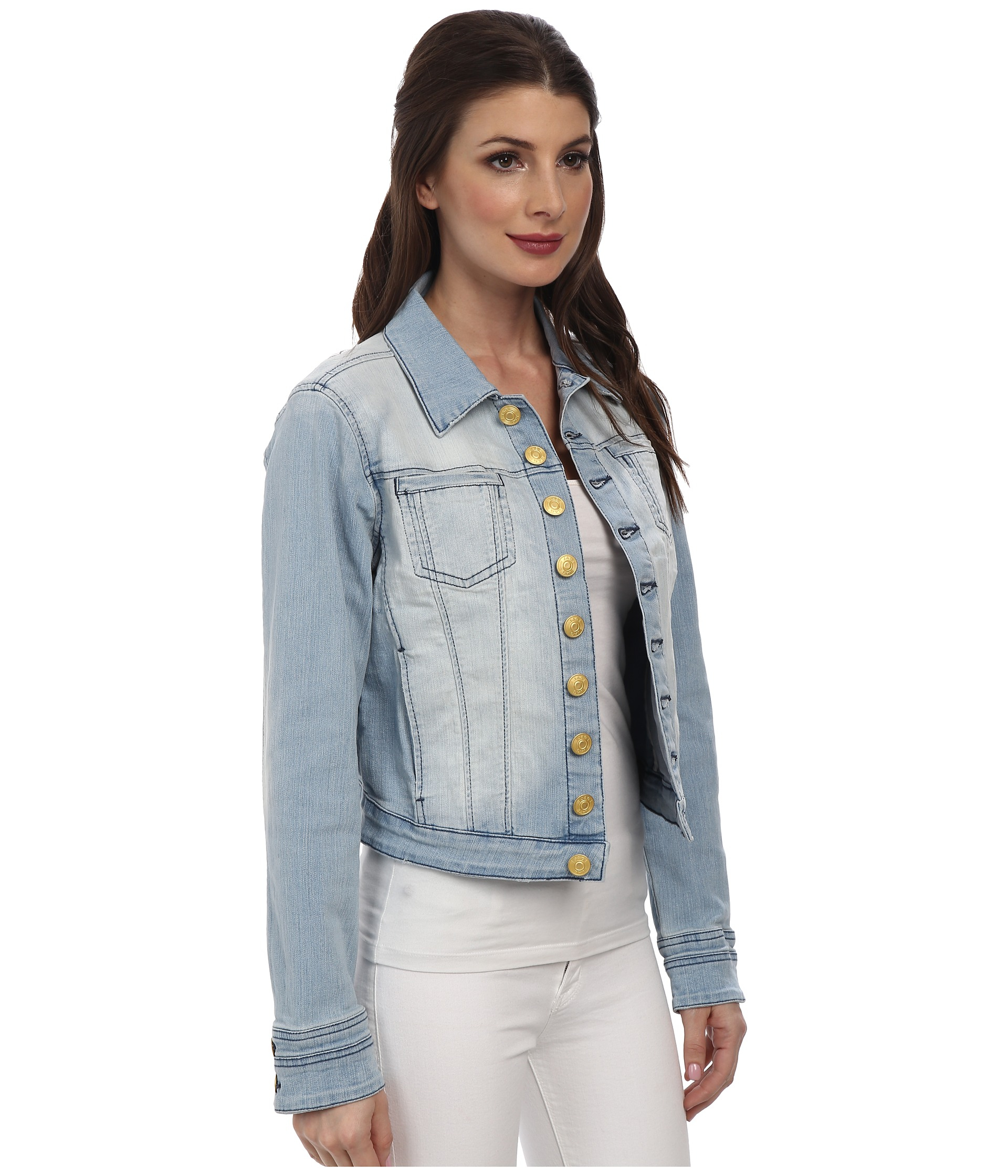 Jag jeans Savannah Comfort Denim Fitted Jacket in Blue (Venice Beach) | Lyst