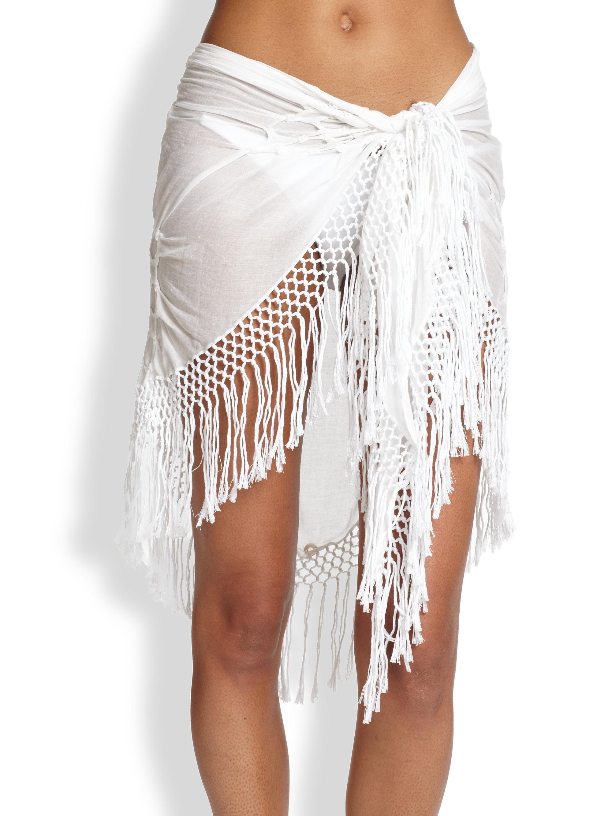 Tie On Skirt