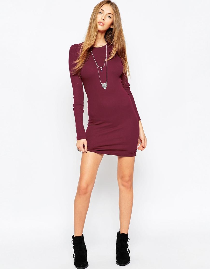 Quarter Sleeve Bodycon Dresses