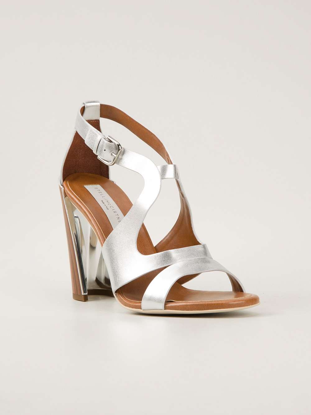 Stella McCartney Metallic sandals MWGbJ3Es