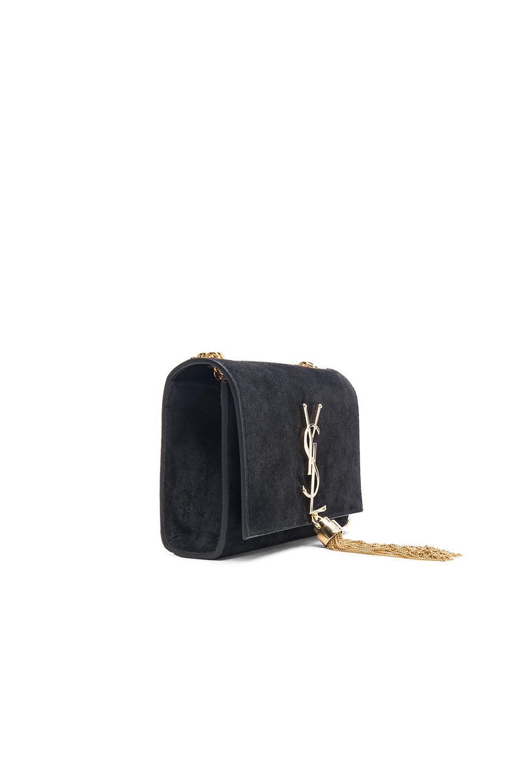 Tasseled Suede Clutch - Black Saint Laurent 4HAEa8IPQ