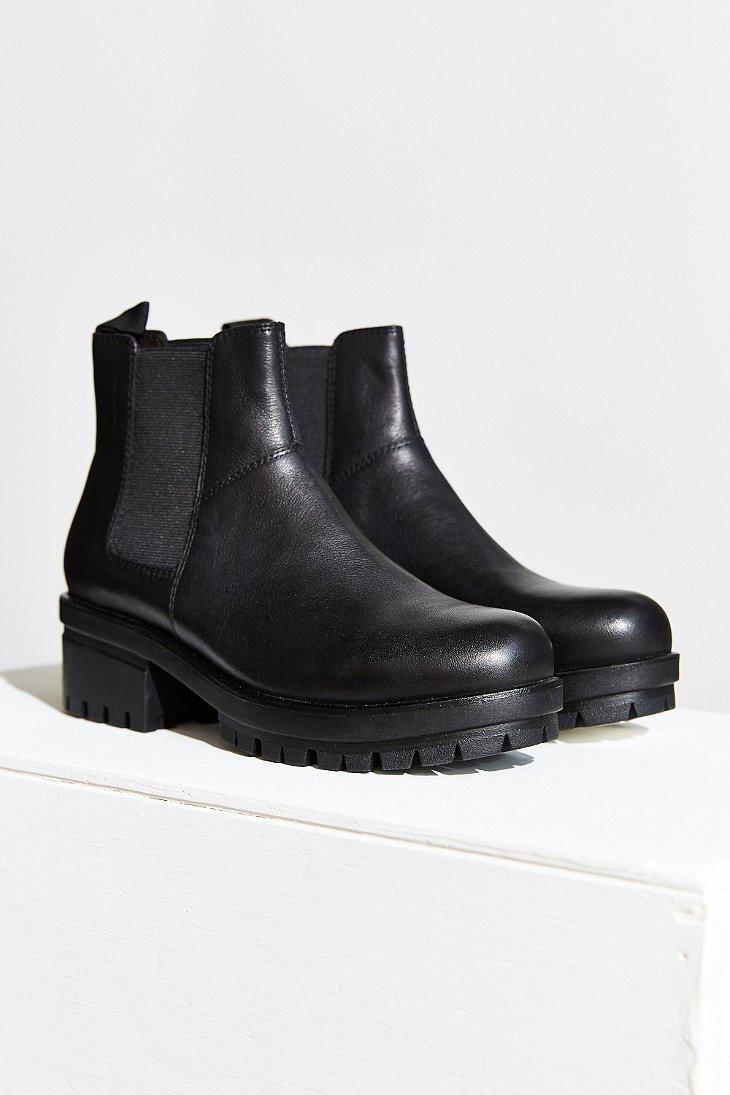 Vagabond Kayla Platform Chelsea Boot in Black - Lyst