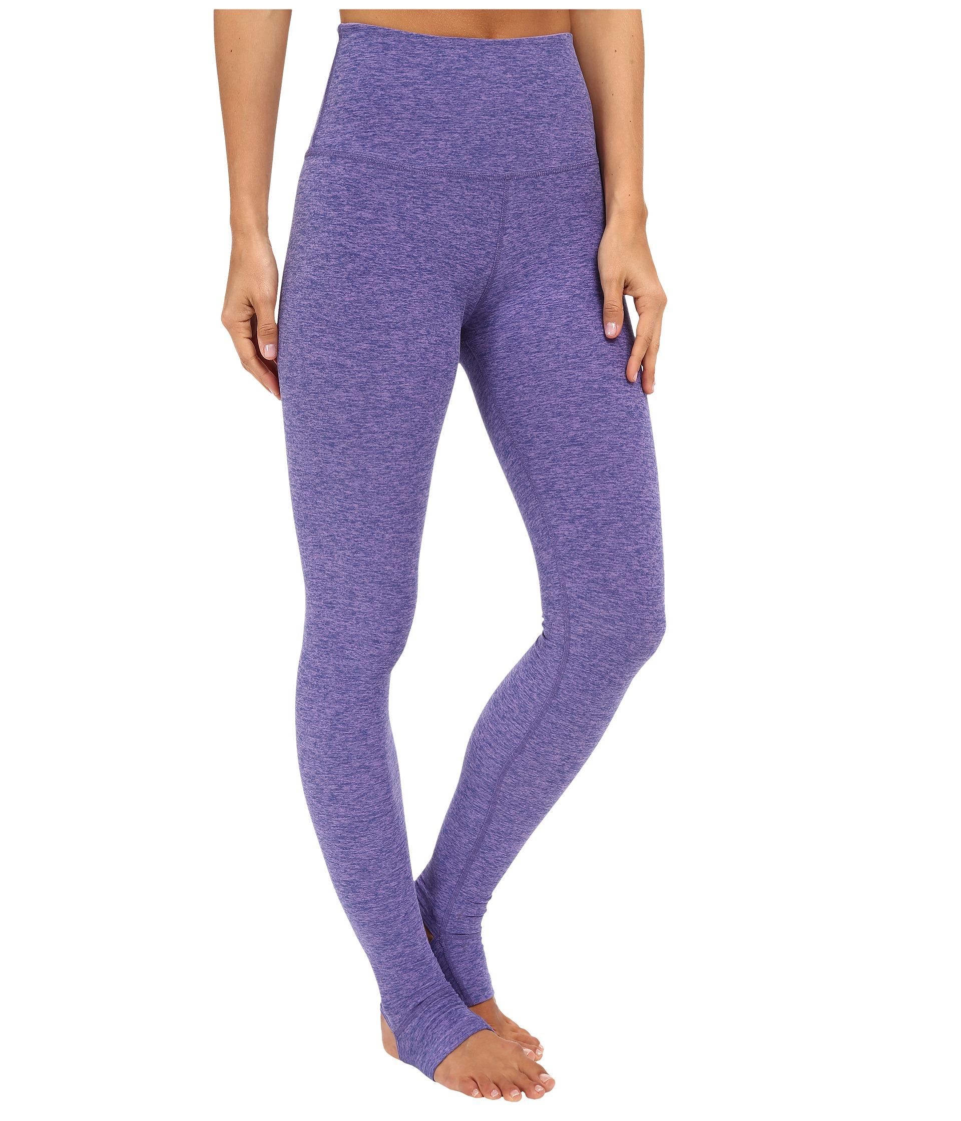 Beyond Yoga High Waist Stirrup Leggings In Blue