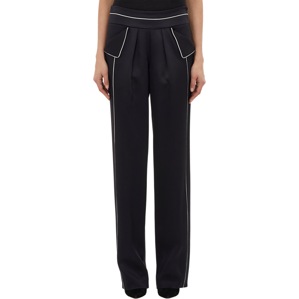 Lyst Derek Lam Women S Pajama Trousers In Black