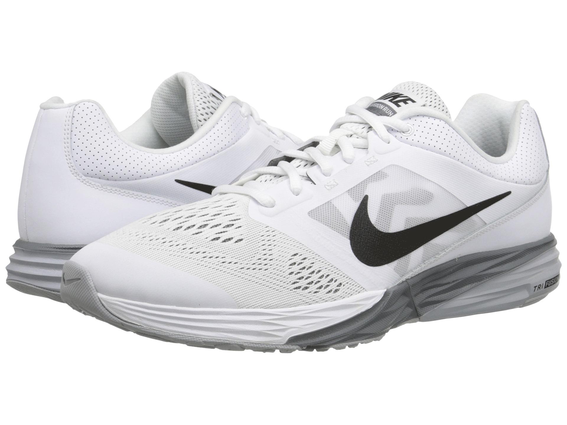 Lyst - Nike Tri Fusion Run in White for Men 08bf4bf62