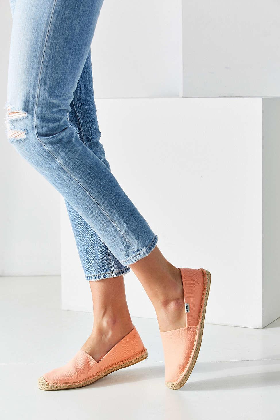 ed7f63eb0e3 Soludos Pink Dali Espadrille Slip-on Shoe