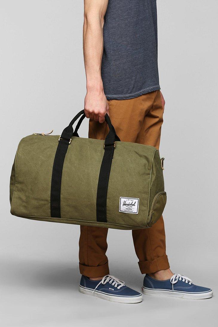 Novel Cotton Canvas Weekender Bag