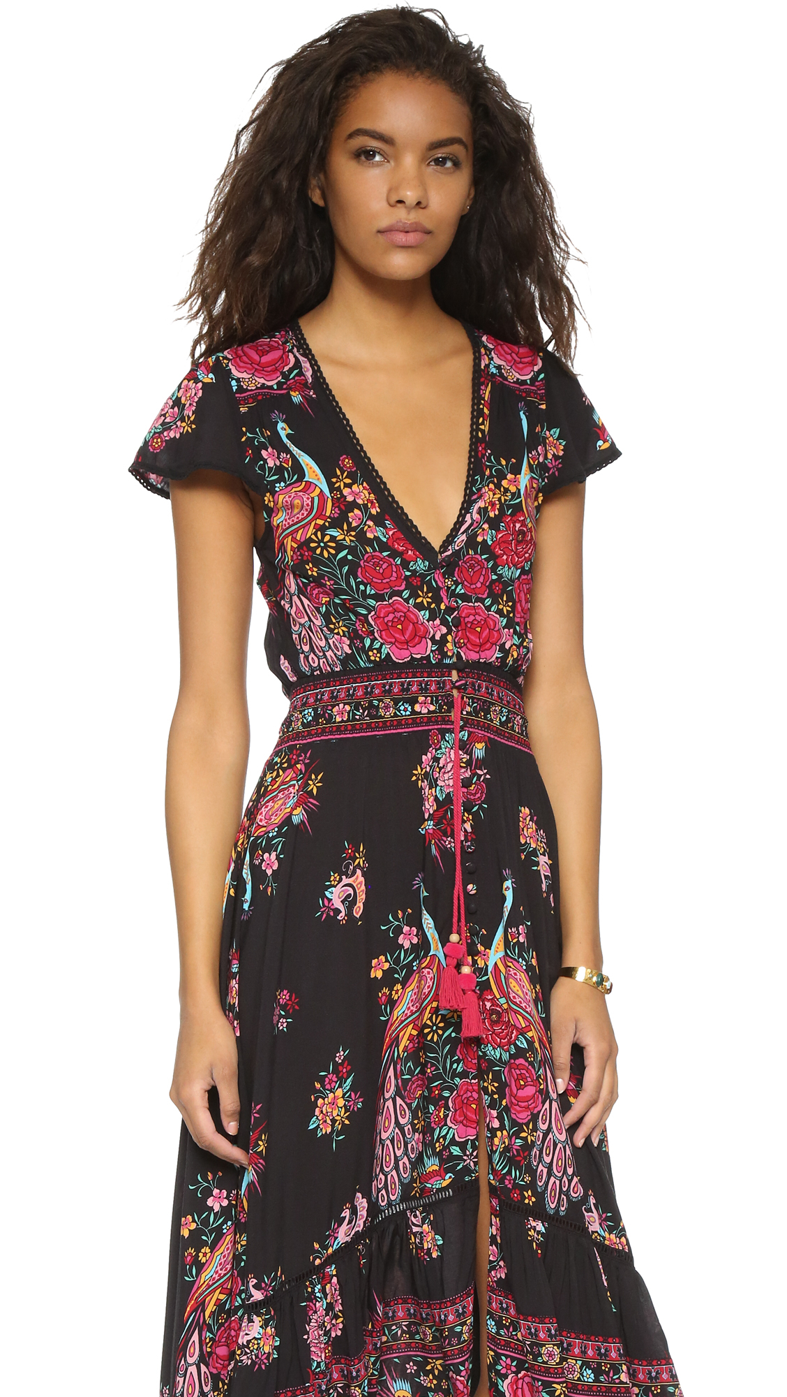 Spell Hotel Paradiso Gown - Jet in Black - Lyst