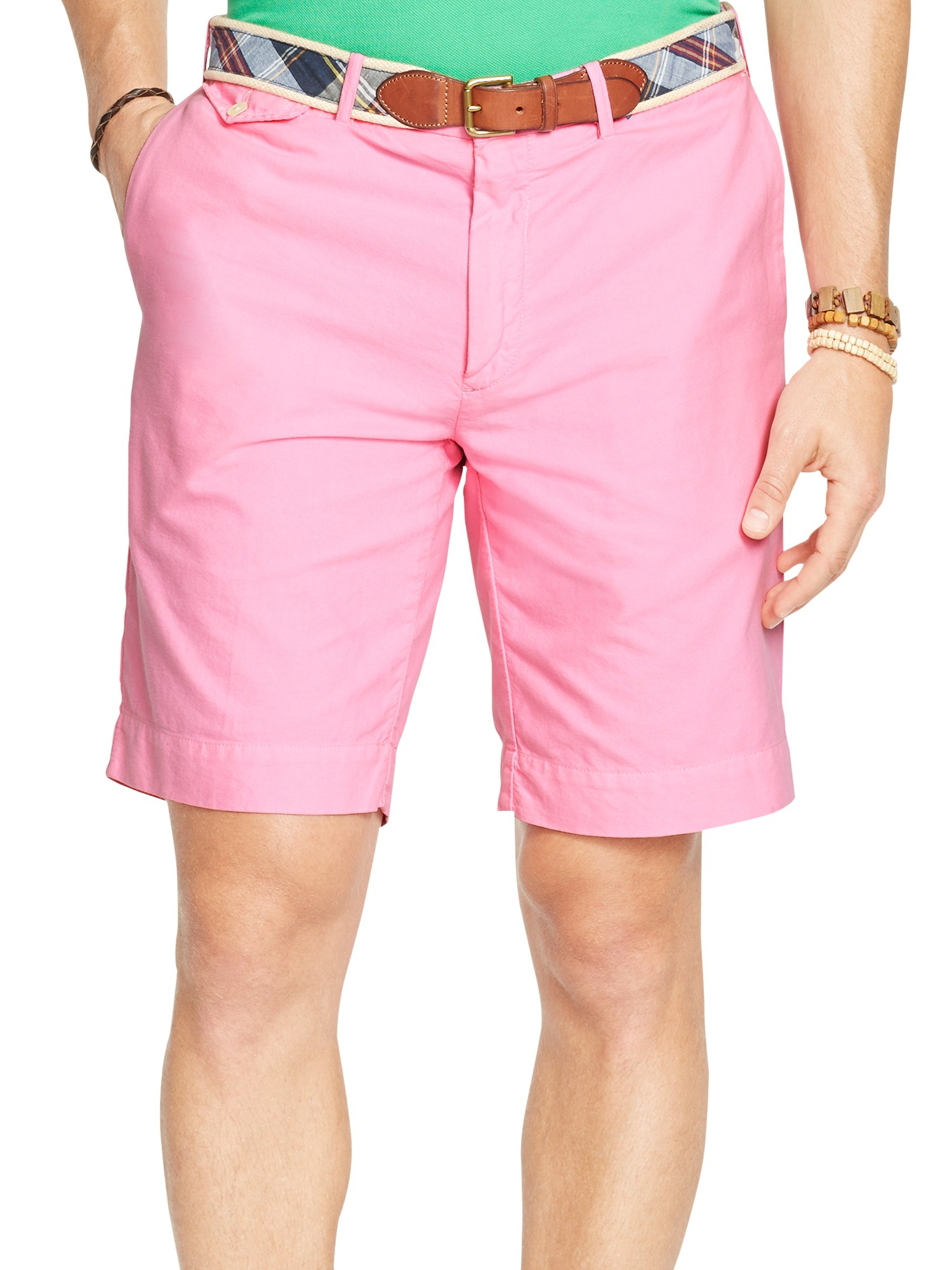 Polo ralph lauren Newport Chino Shorts in Pink for Men | Lyst