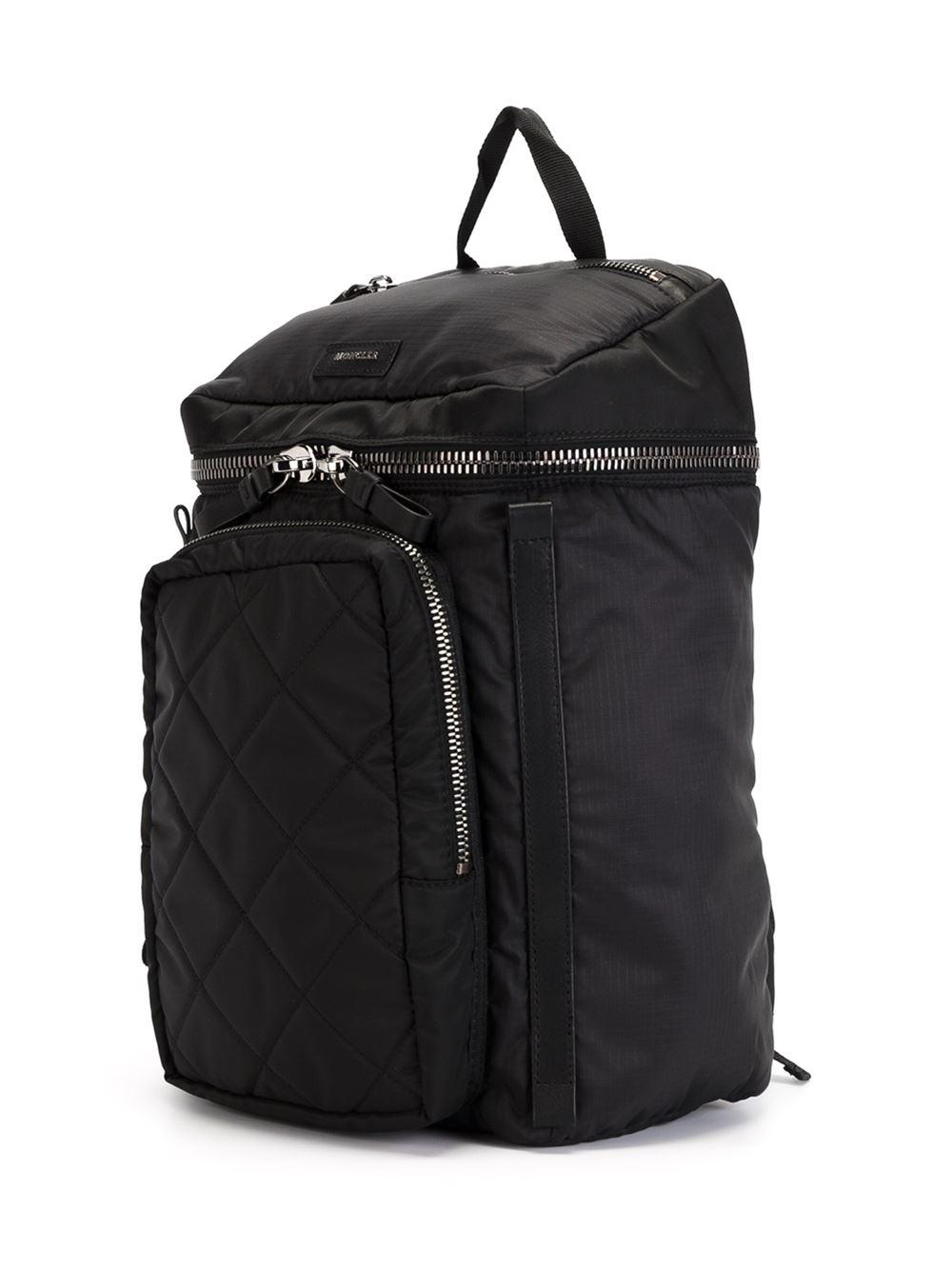 Moncler Yannick Backpack In Black For Men Lyst