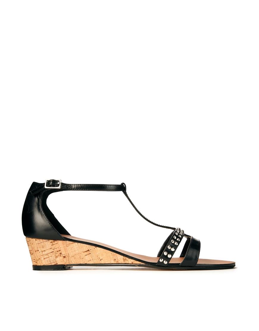 Black sandals gold bar - Gallery Women S Gold Sandals