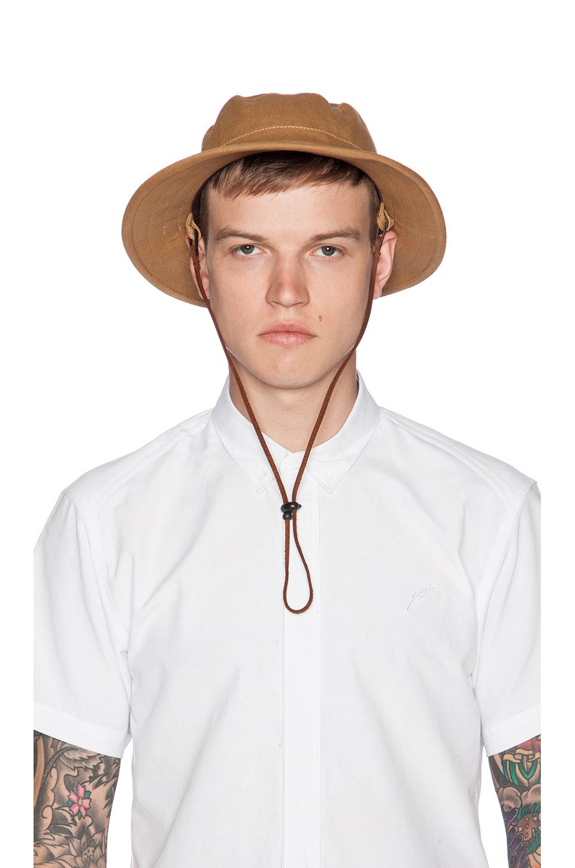 Lyst - Brixton Tracker Bucket Hat in Brown for Men add1e182fc1