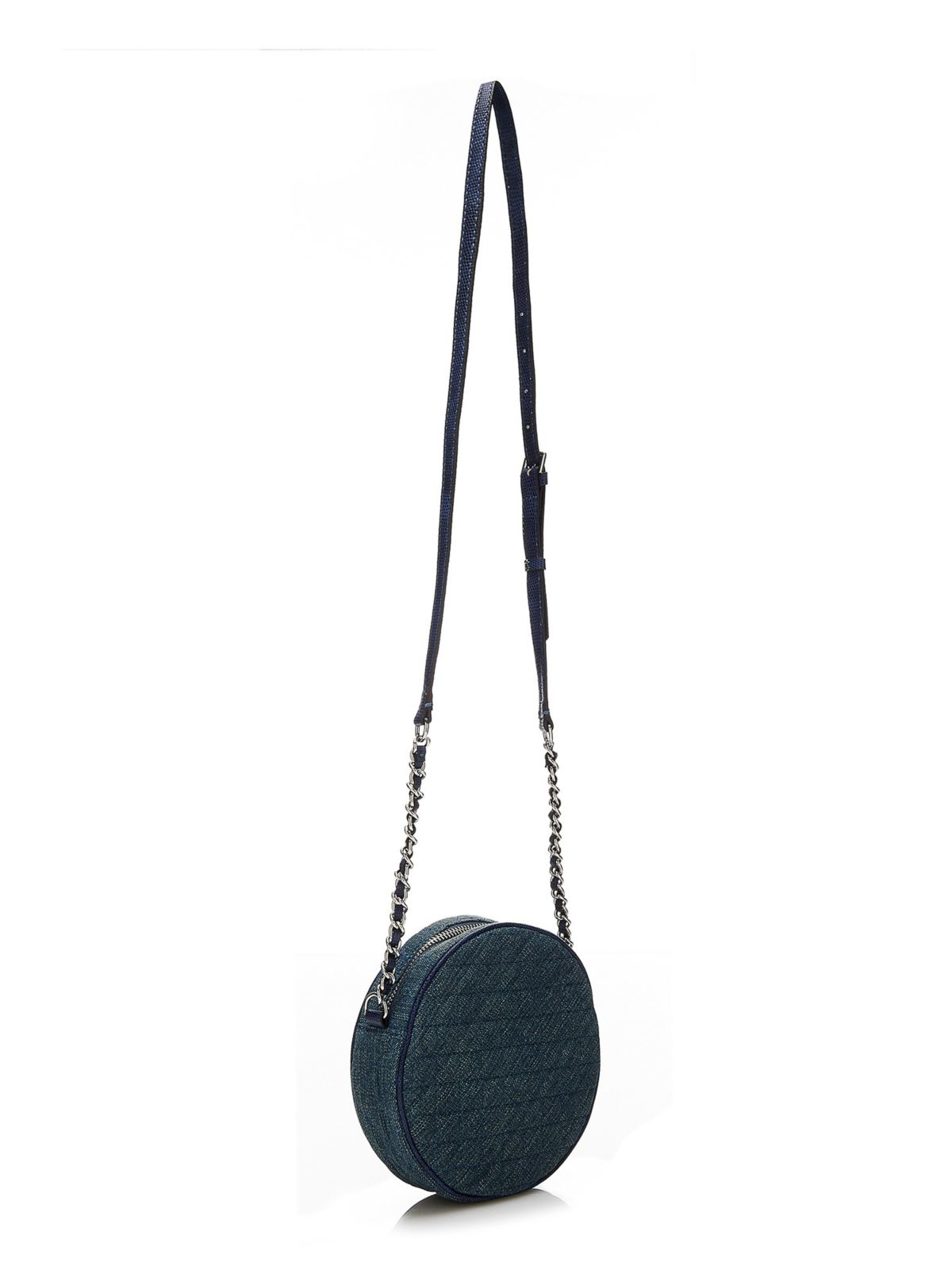 Guess Leeza Round Crossbody Bag In Blue Lyst