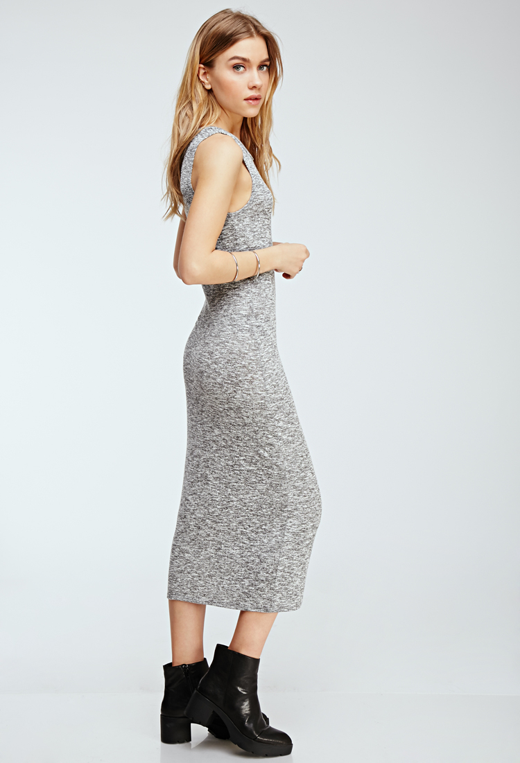42398e220e6 Lyst - Forever 21 Marled Maxi Dress You ve Been Added To The ...