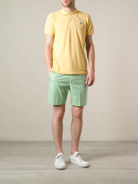 Brooks Brothers Polo Shirt in Yellow for Men  yellow  amp  orange Brooks Brothers Polo