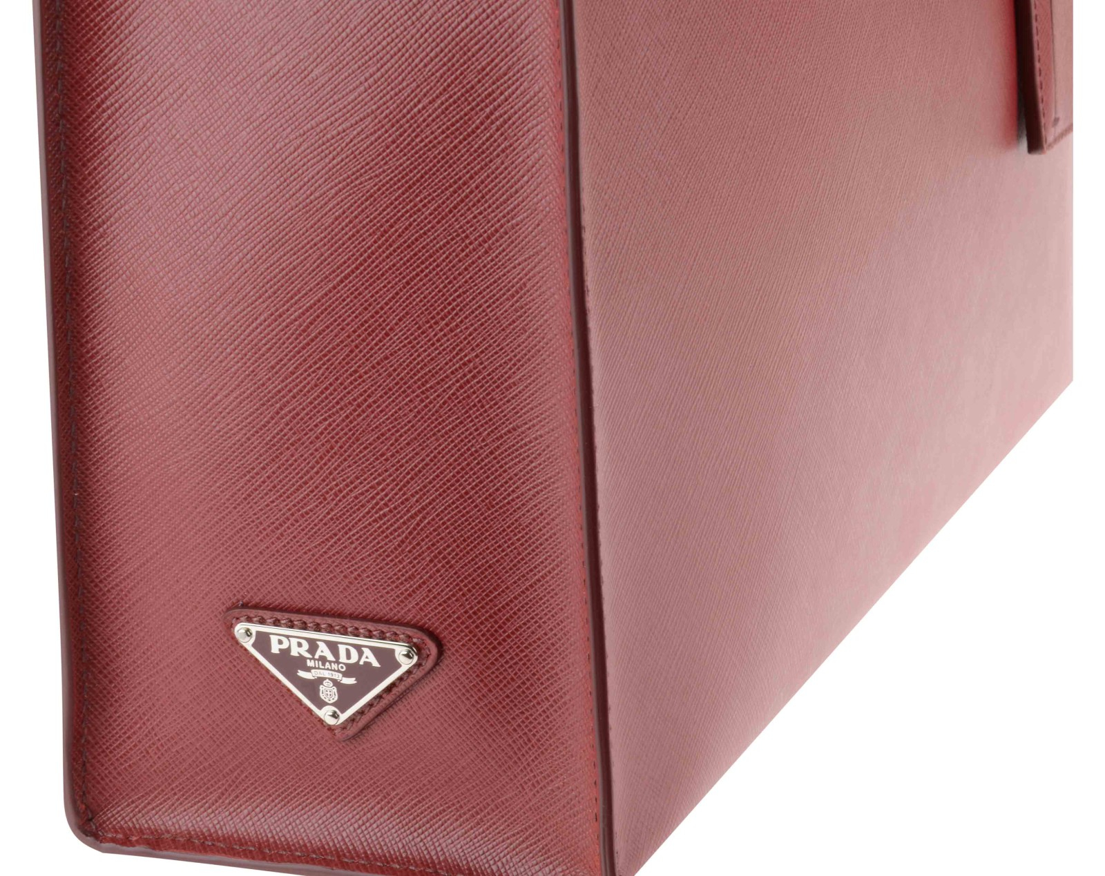 prada crossbody satchel - Prada Borsa Viaggio Saffiano Travel Rosso Rubino Info: Chiusura in ...