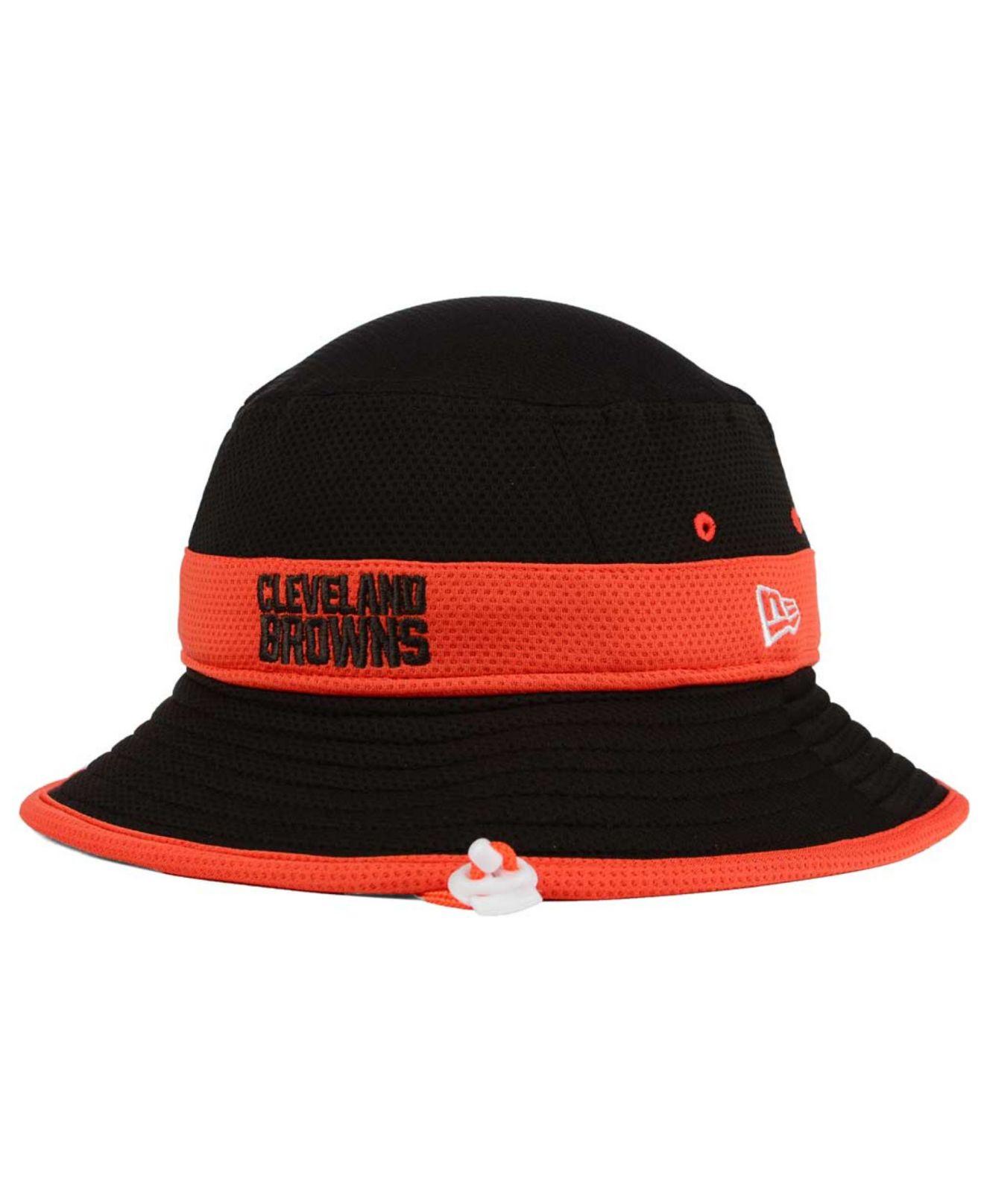 Lyst Ktz Cleveland Browns Training C Reverse Bucket Hat In. Men S New Era  Brown Cleveland Browns Fan ... 8068de8c2