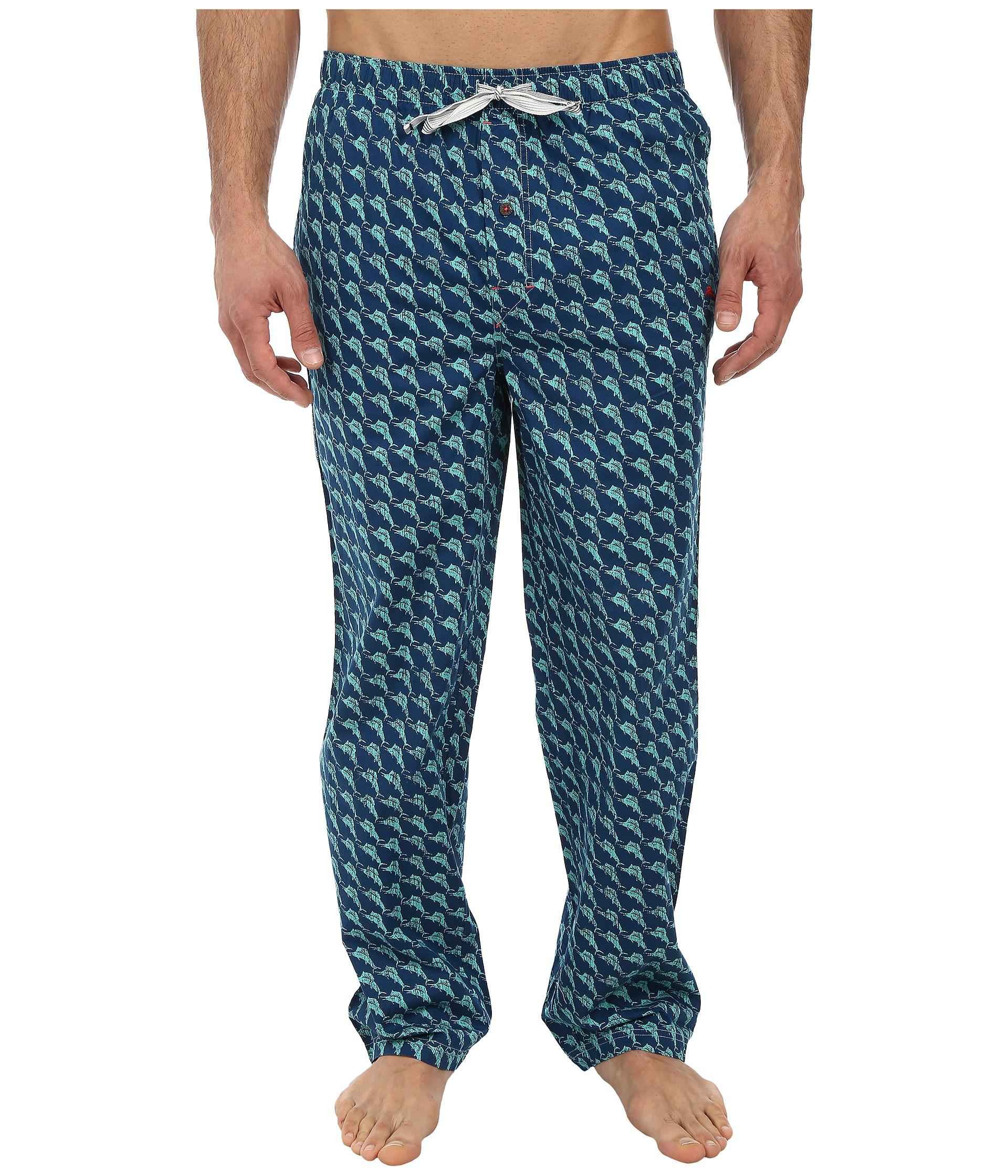 Tommy Bahama Summerland Keys Linen Pant In Blue For Men Lyst