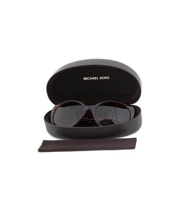 4377f1e79caa Lyst - Michael Kors Tori Tortoise Brown Oval Cateye Sunglasses in Brown