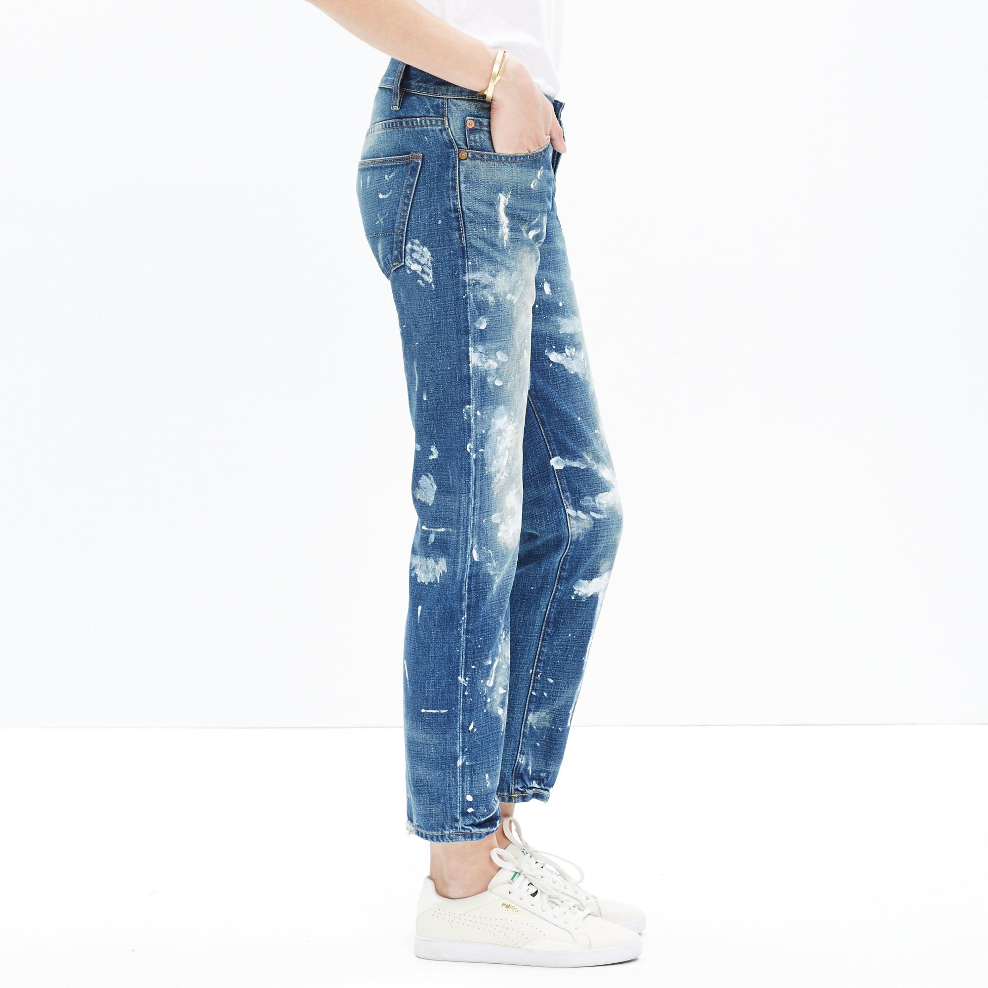 Lyst madewell nsf painted beck jeans in blue - Mobel maxx friedberg ...