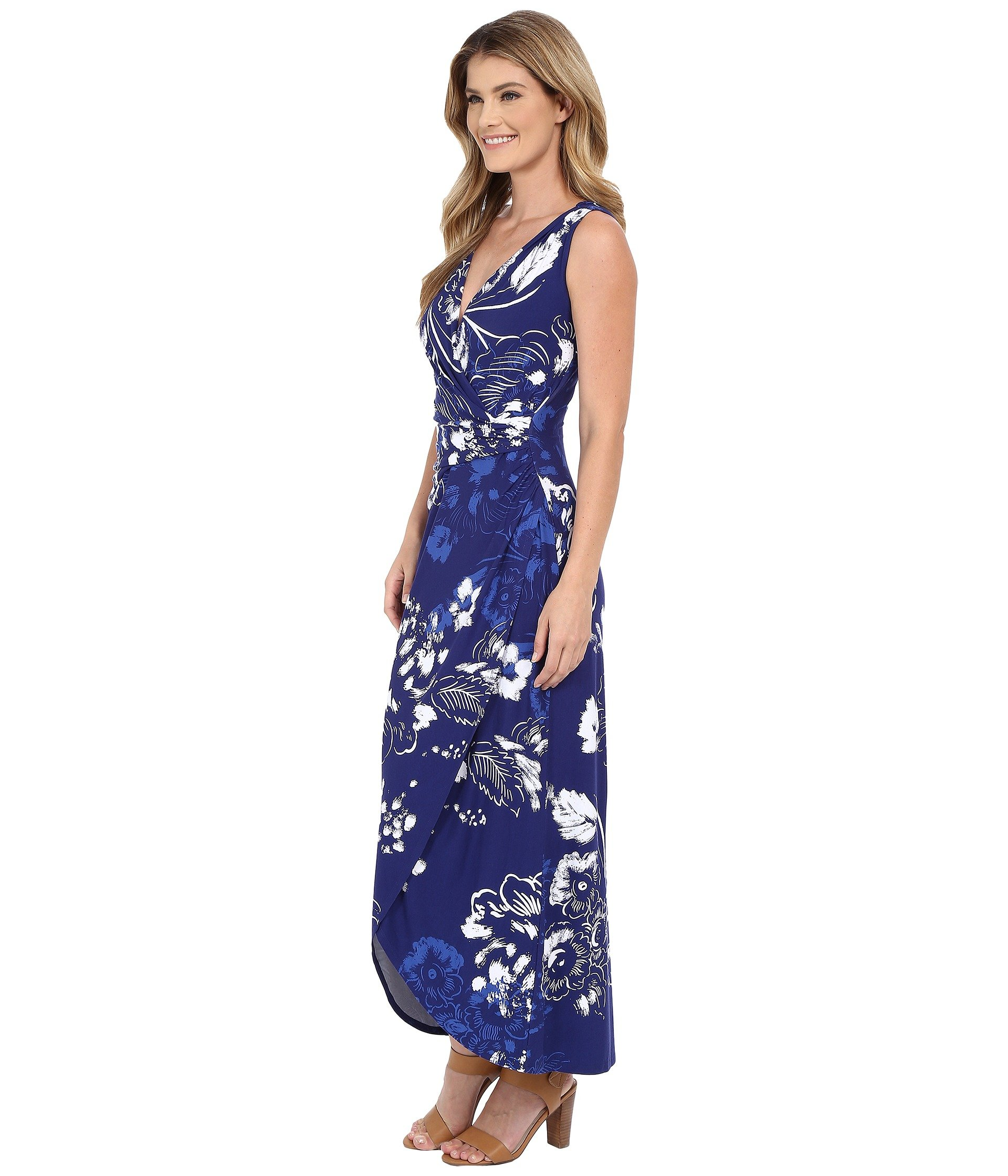 afeded1e7c0 Lyst - Tommy Bahama Freshwater Flowers Long Dress in Blue