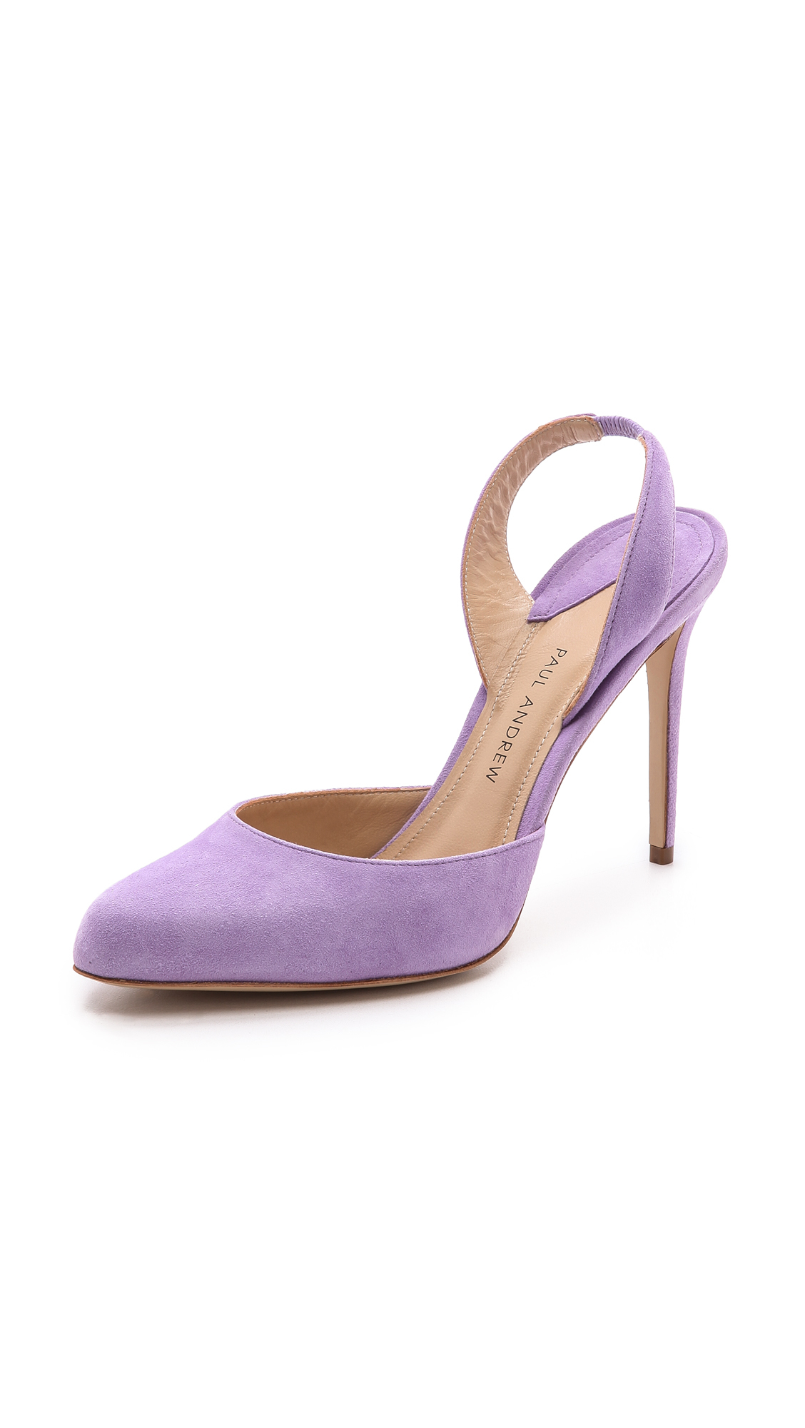 Lyst - Paul andrew Solace Slingback Heels - Lilac in Purple