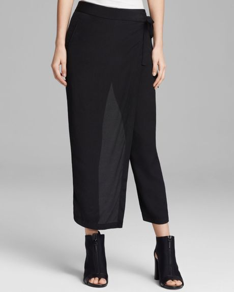 Popular Hyke  Skirt Overlay Woolmohair Pants  Women  Lane Crawford