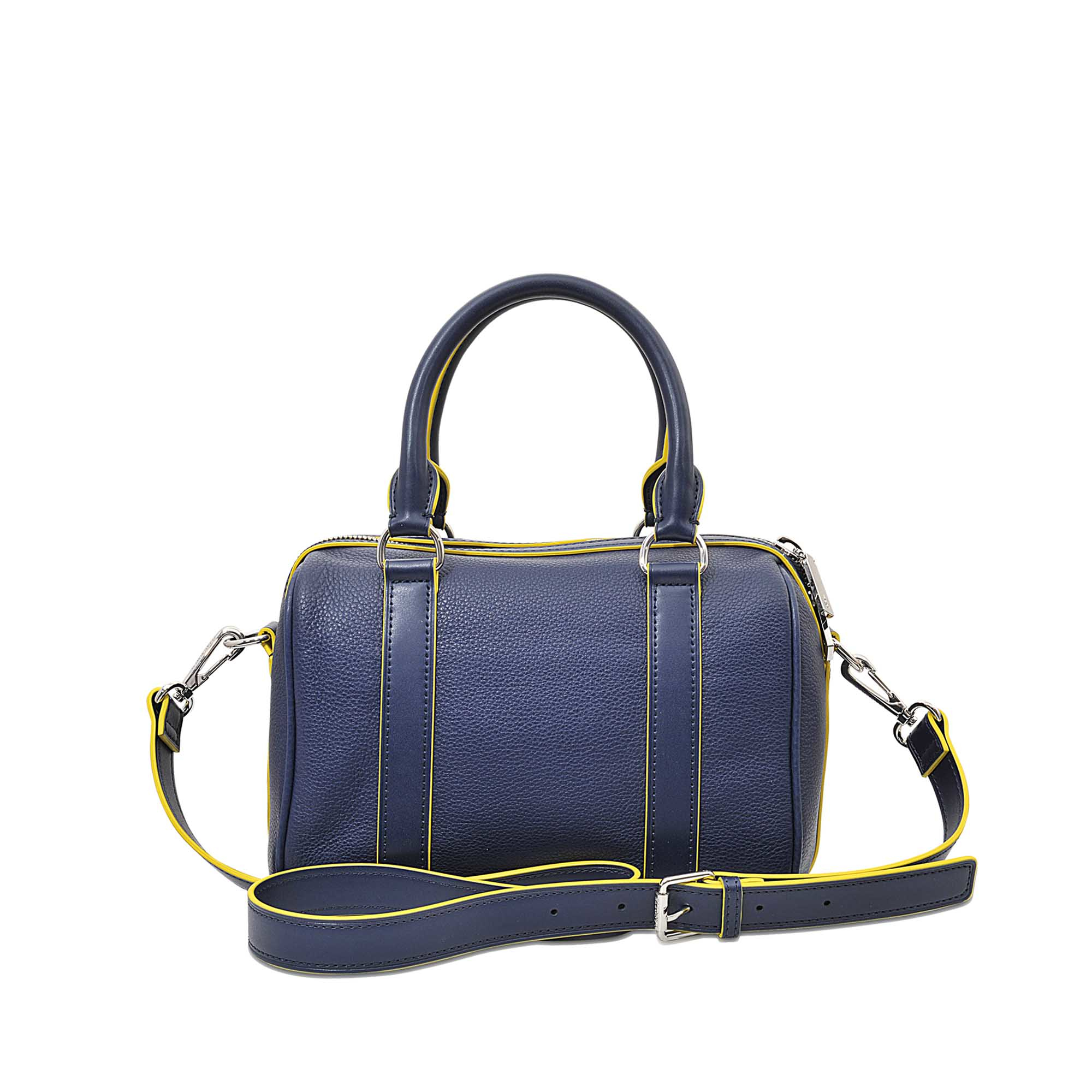 fbdd521a9aa3 Lyst - Lacoste Renée Small Boston Bag in Blue