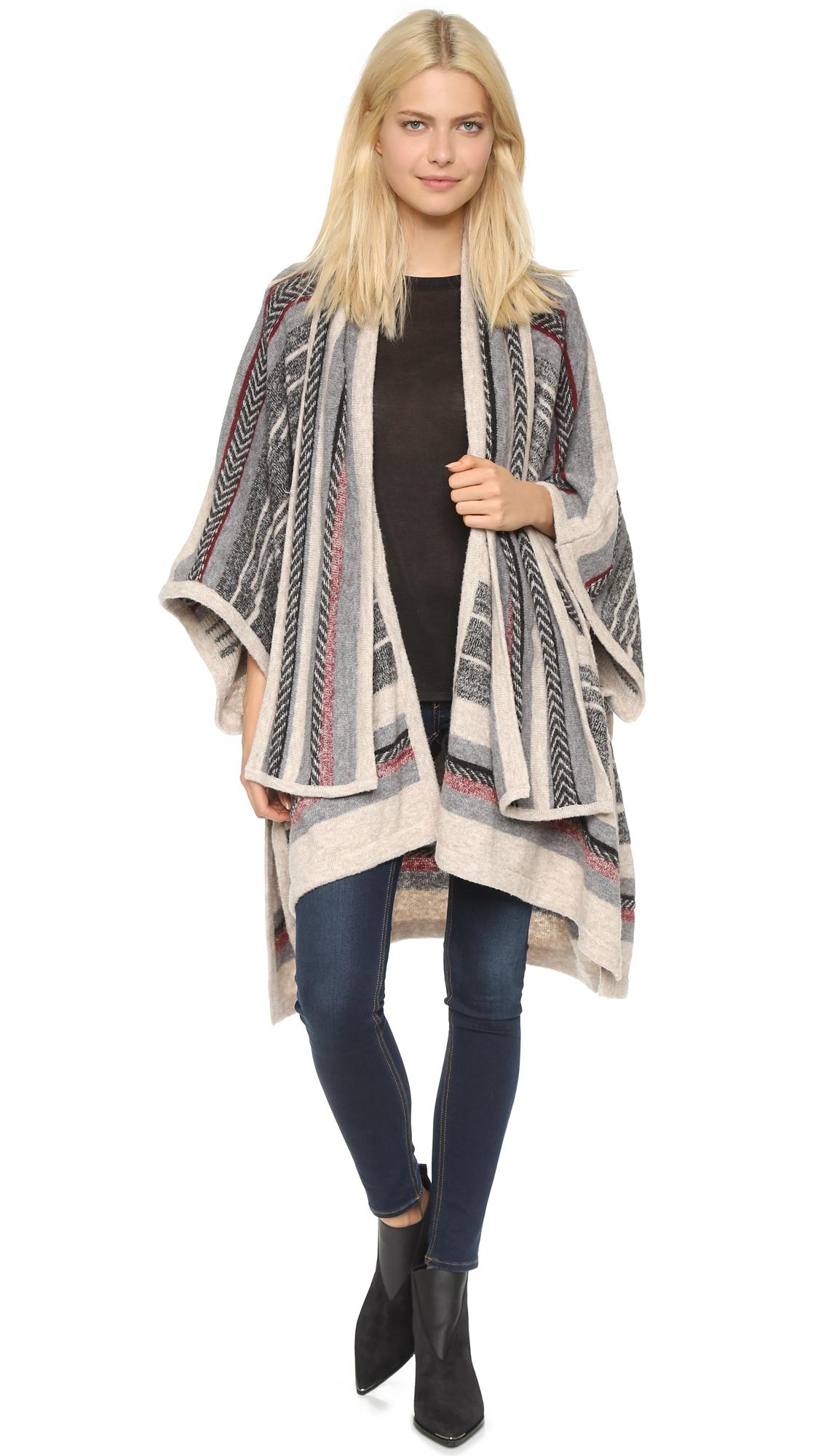 twelfth cynthia vincent scarf poncho in