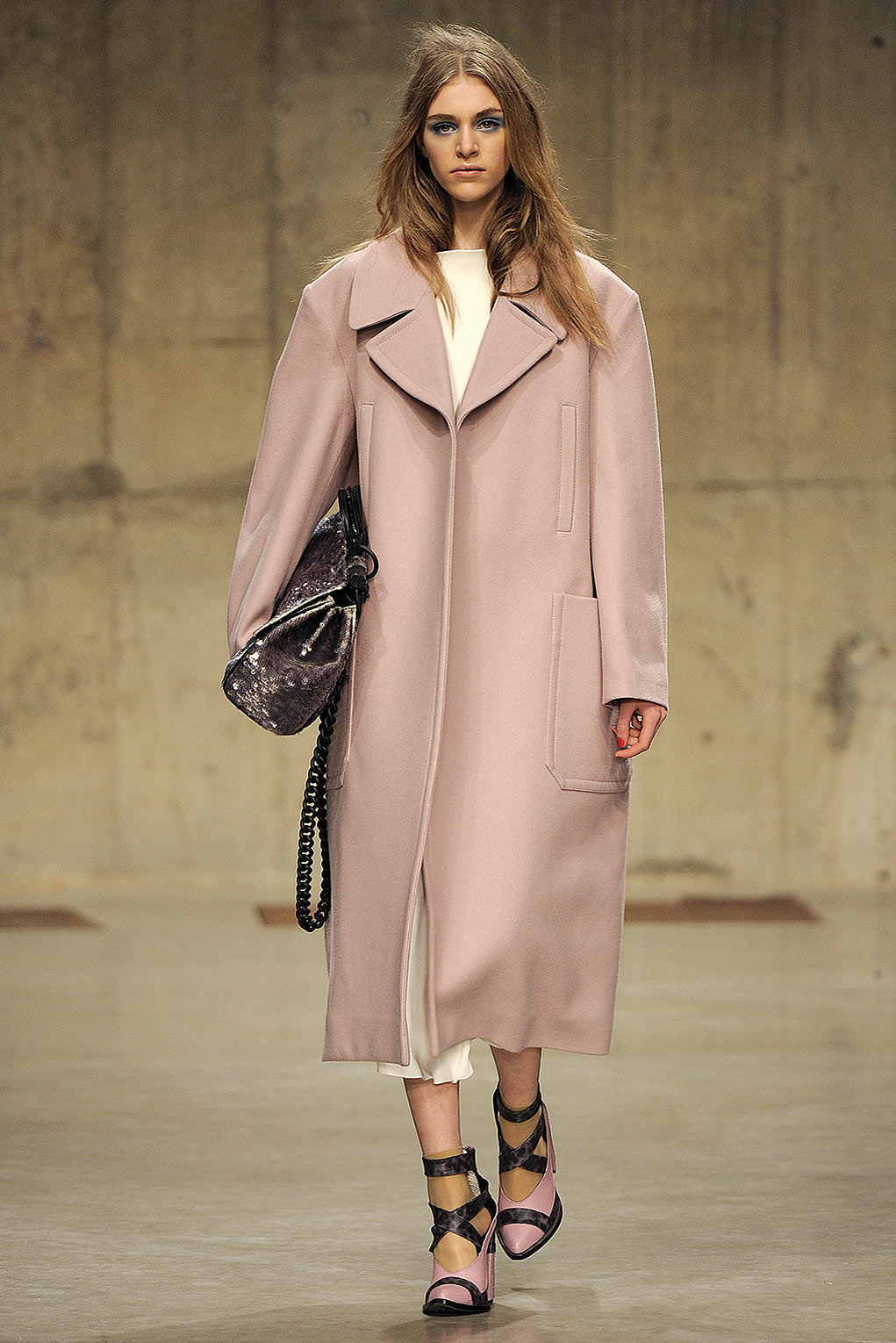 Topshop Pink Coat | Down Coat
