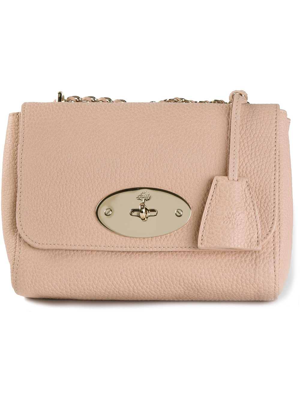 b39289d4a3 Lyst - Mulberry Lily Shoulder Bag in Pink