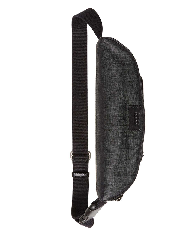 e0256dec0c8 Lyst - Gucci Eden Gg Supreme Belt Bag in Black for Men