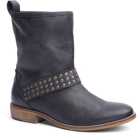 tommy hilfiger eline ankle boots in black lyst. Black Bedroom Furniture Sets. Home Design Ideas