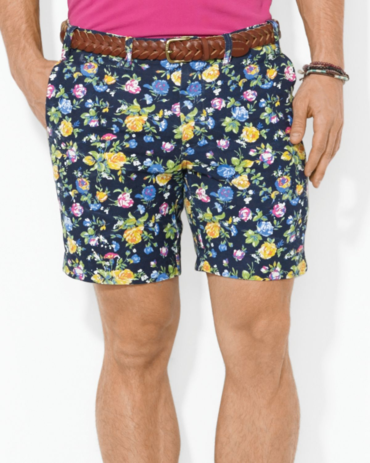 4ef211bc7cd9 Lyst - Ralph Lauren Polo Maritime Floral Print Shorts Straight Fit ...