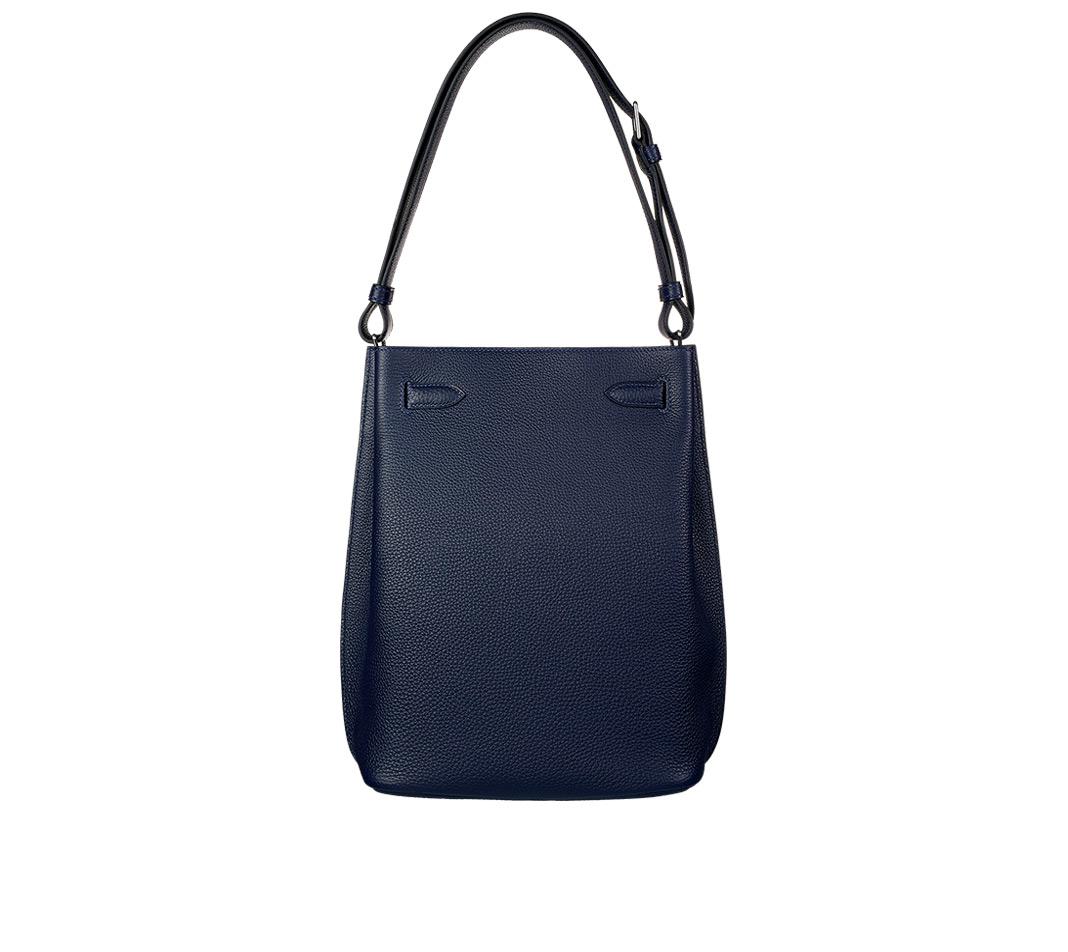 replica hermes birkin bags - Herm��s So-kelly 22 in Black (night blue) | Lyst
