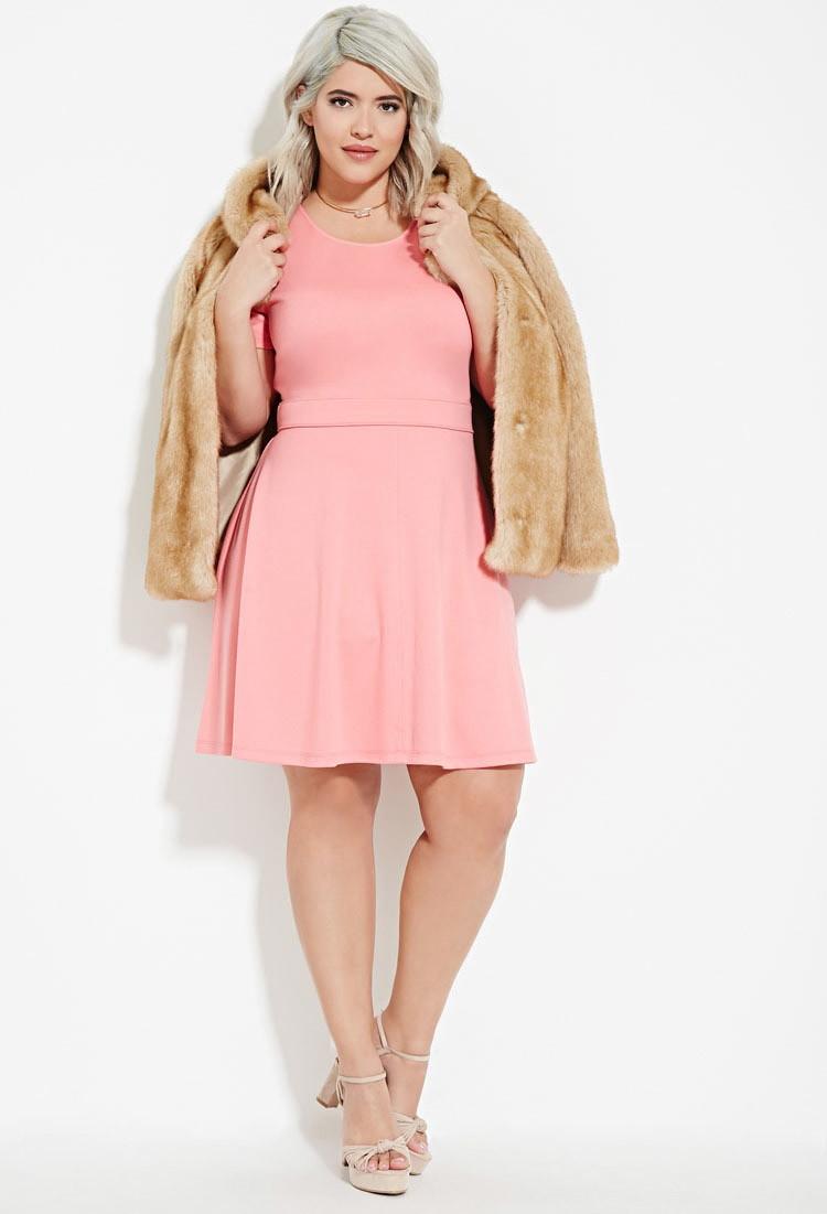 Plus Size Skater Dresses Dress Images