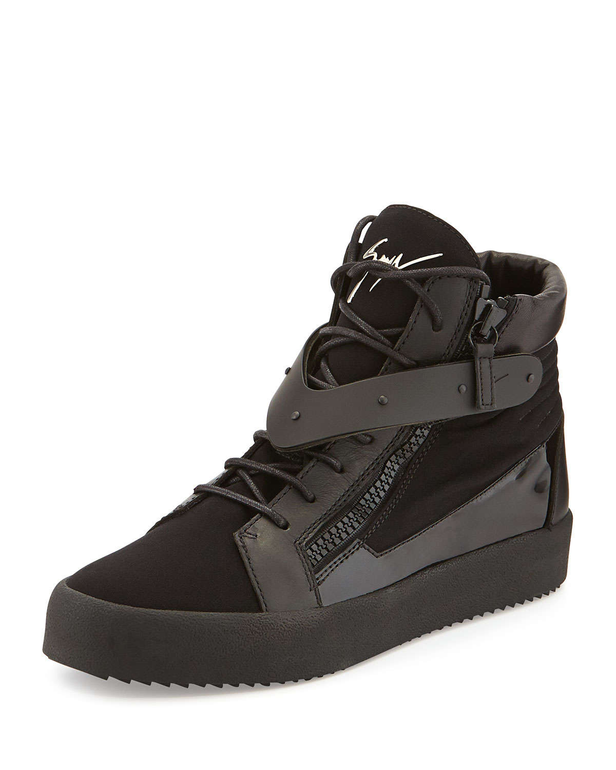 how to wear high top sneakers mens