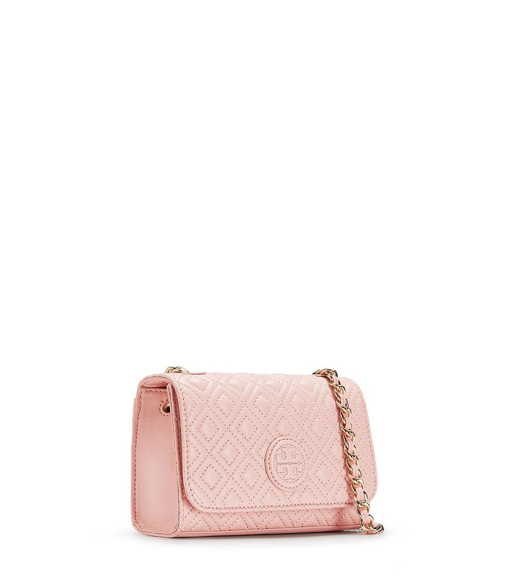 ee7a1b2a7ba Lyst - Tory Burch Marion Quilted Shoulder Bag in Natural