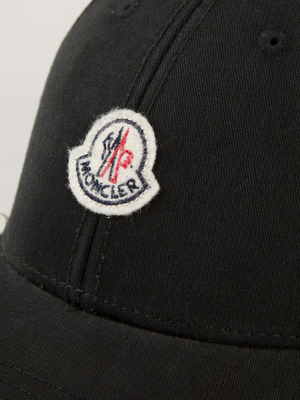 Lyst - Moncler Classic Baseball Cap in Black for Men 4757026c7
