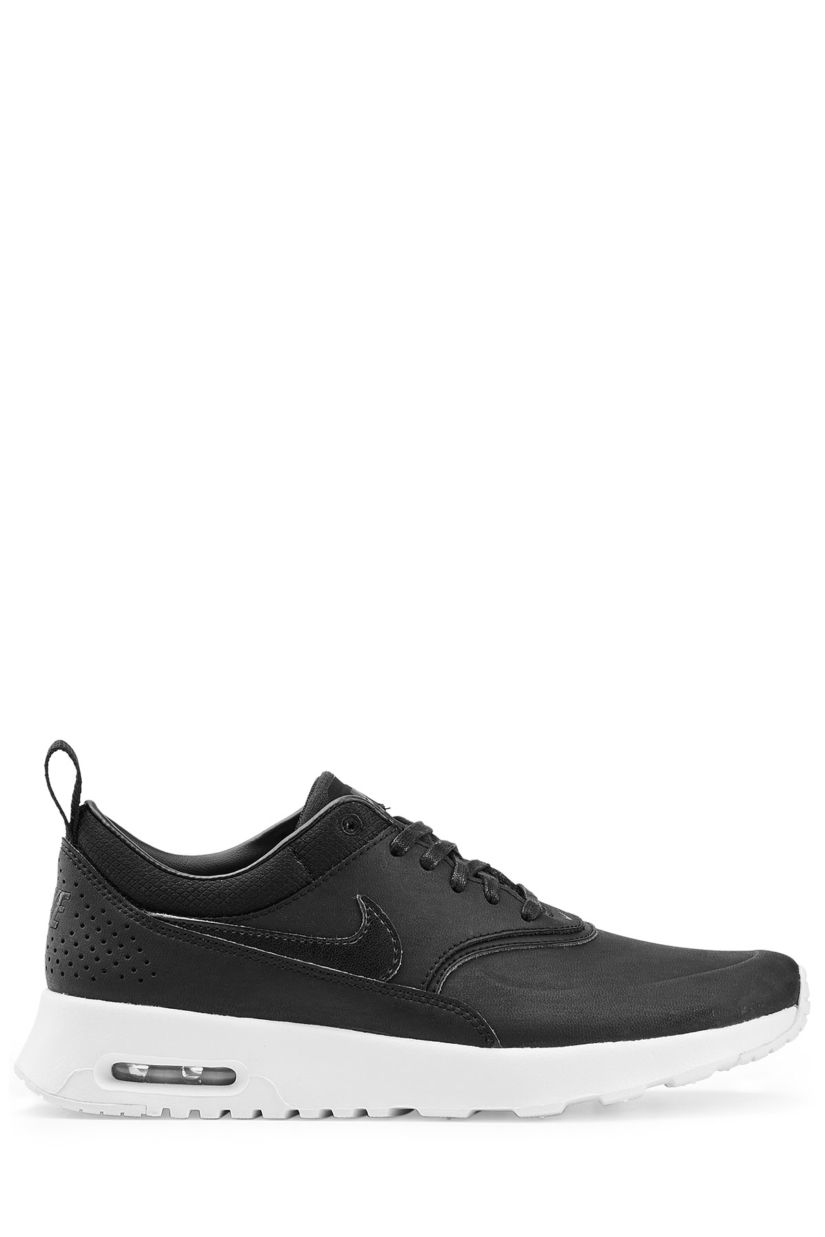 Nike Thea Black Leather