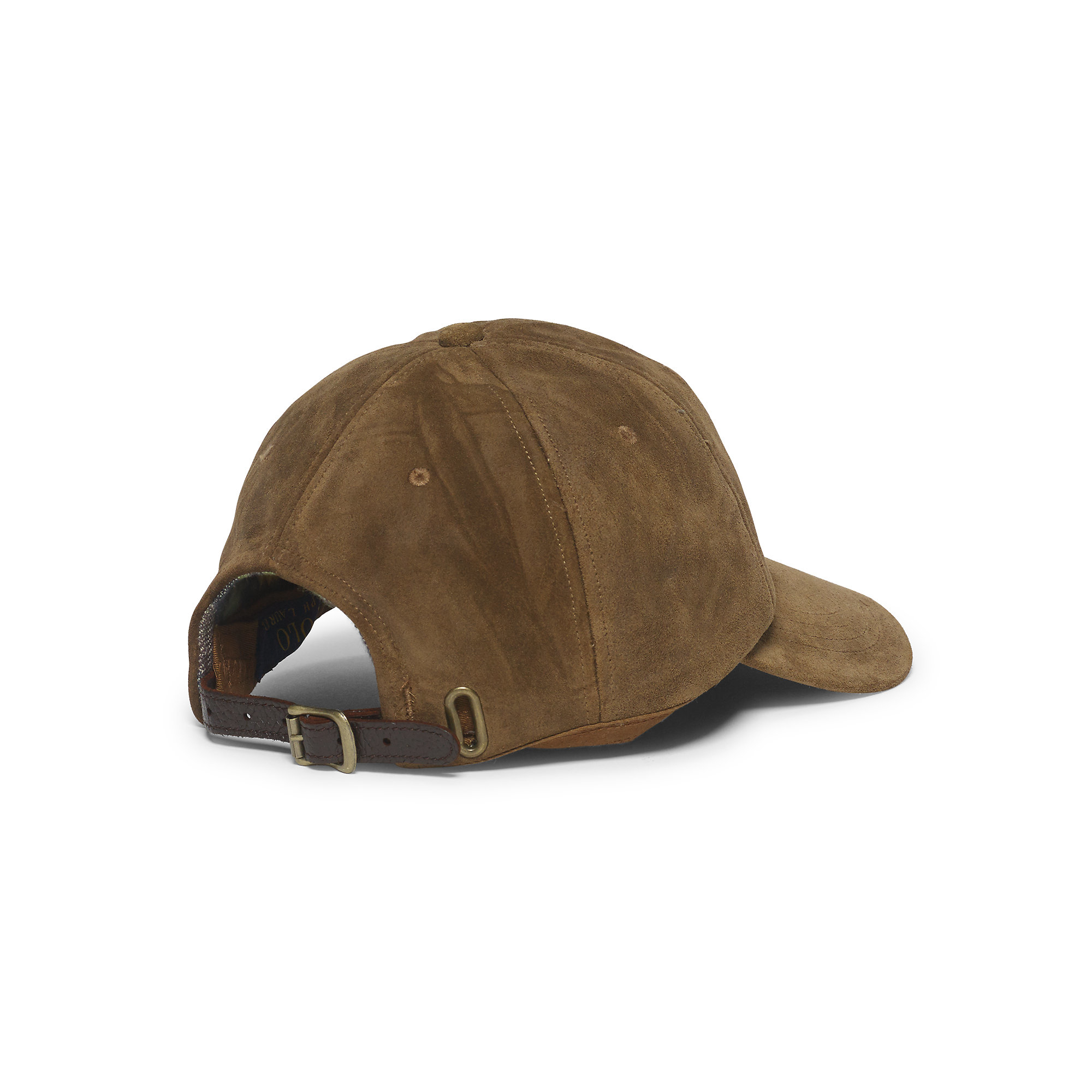 222338ee9dd Lyst - Polo Ralph Lauren Suede Hunting Hat in Brown for Men